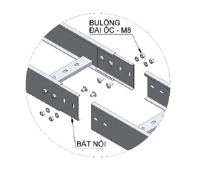 NỐI THANG CÁP | CONECTOR TRUNKING