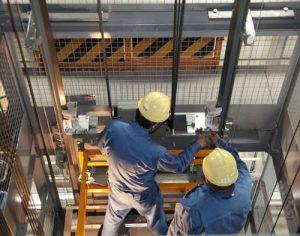 bảo trì thang máy 1
