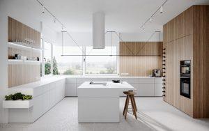 Mẫu nội thất nhà bếp hiện đại