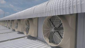 ứng dụng quạt thông gió công nghiệp