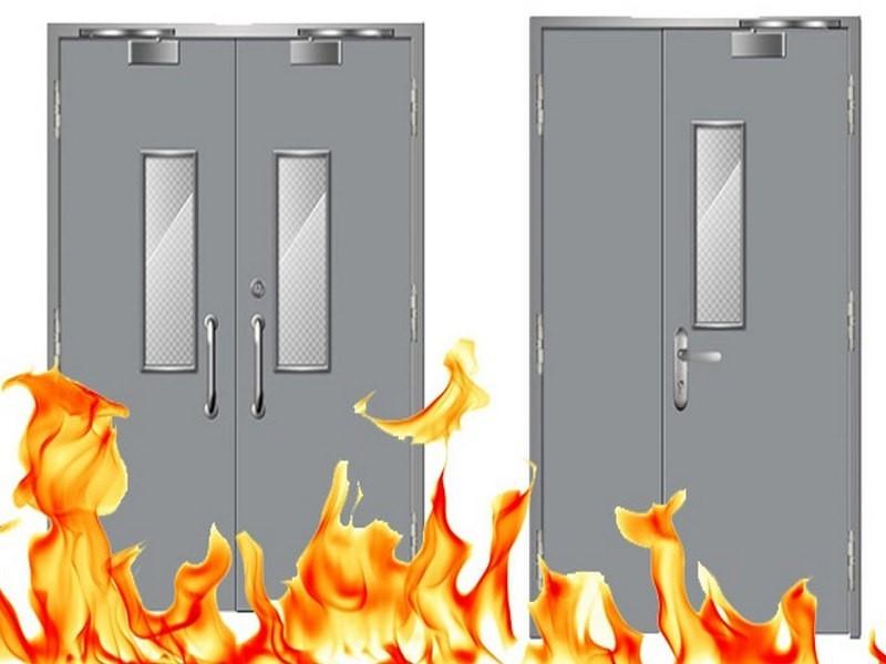 Ưu điểm cửa chống cháy