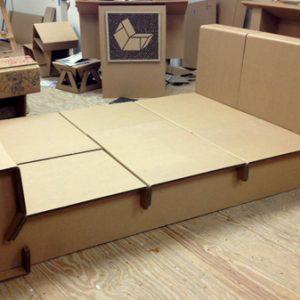 Giường Tầng Carton - CB01